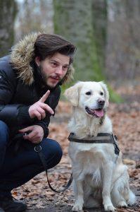 promener son chien en laisse sans qu'il tire
